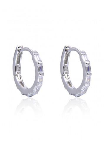Boucles d'oreilles créoles mademoiselle bijoux