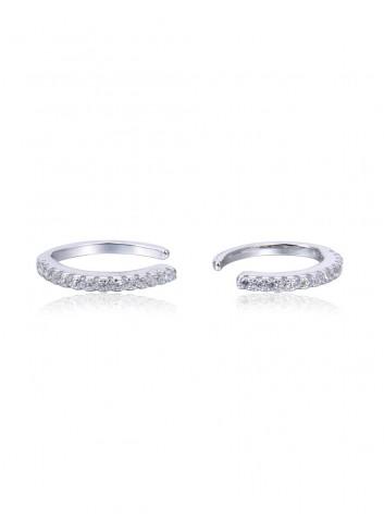 Boucles d'oreilles anneaux mademoiselle bijoux